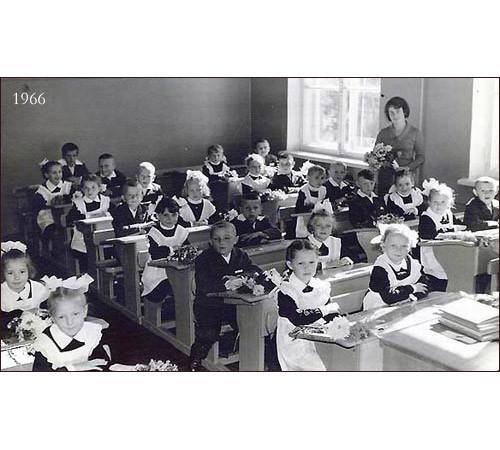 Советские школьники, 1966. Изображение № 1.