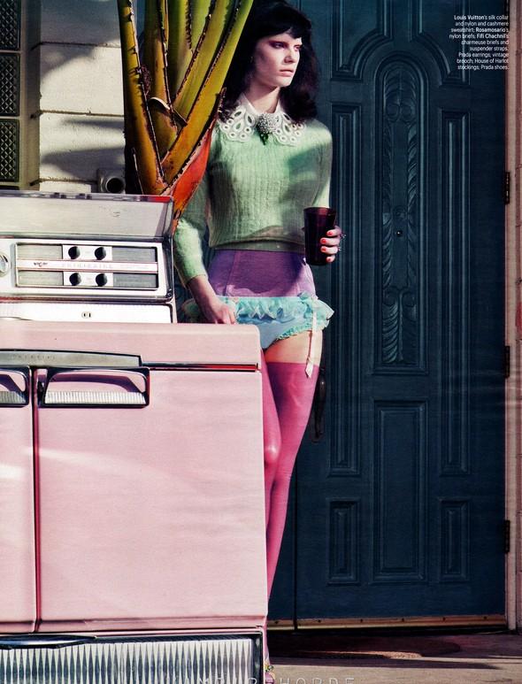 Съёмка: Кверелле Янсен в объективе Крейга Макдина. Изображение № 7.