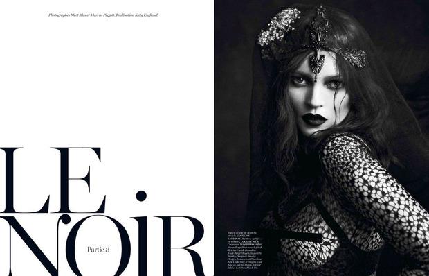 Новые съемки Dazed & Confused, Vogue, i-D и W Magazine. Изображение № 21.
