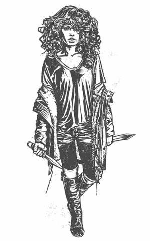 Девушки с оружием от Frank Barbara. Изображение № 15.