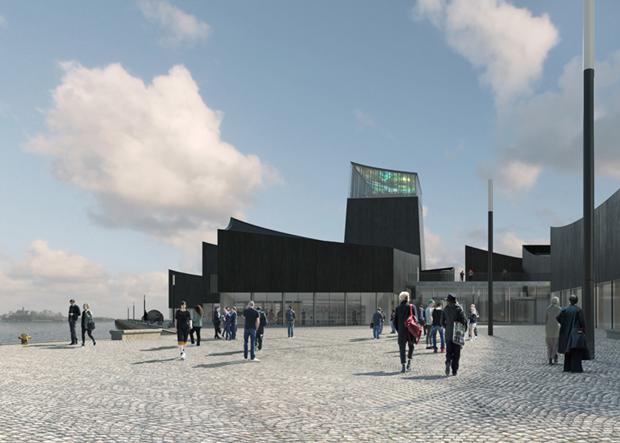 Показан проект Музея Гуггенхайма в Хельсинки . Изображение № 5.