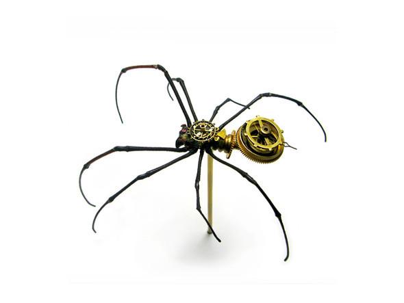 Стимпанк насекомые от Mike Libby. Изображение № 11.