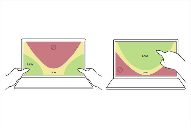 На гибридных ноутбуках есть две противоположные друг другу схемы. Изображение № 5.