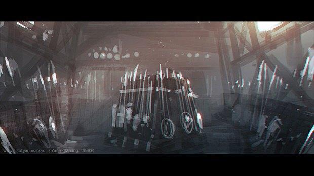 Китайский художник перерисовал кадры из трейлера «Варкрафта». Изображение № 3.