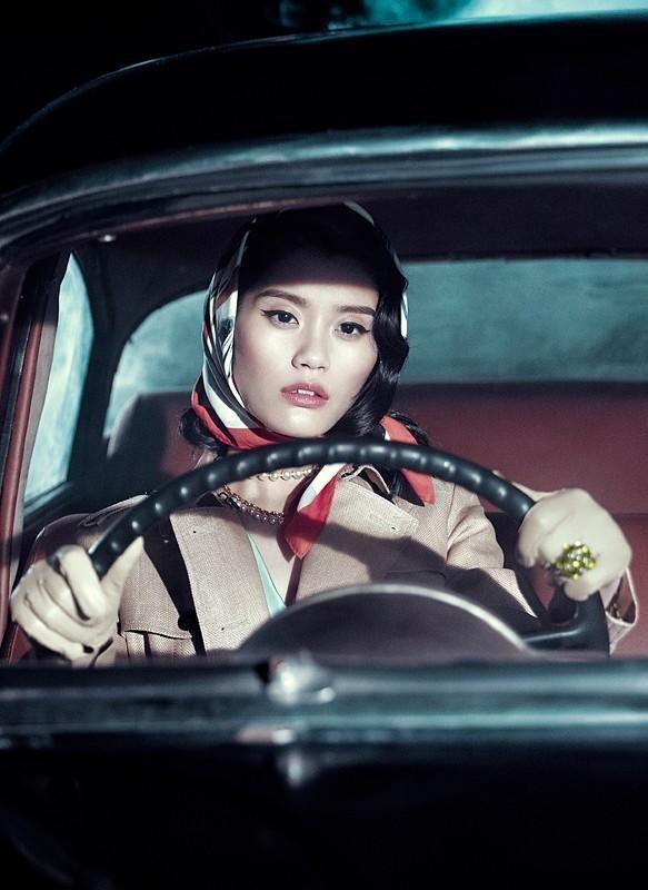 Съёмка: Мин Си для китайского Vogue. Изображение № 6.