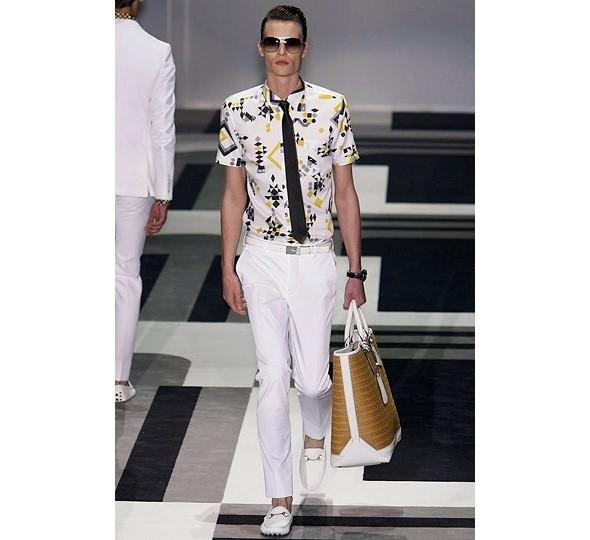 Трансляция показа новой мужской коллекции Gucci. Изображение № 7.