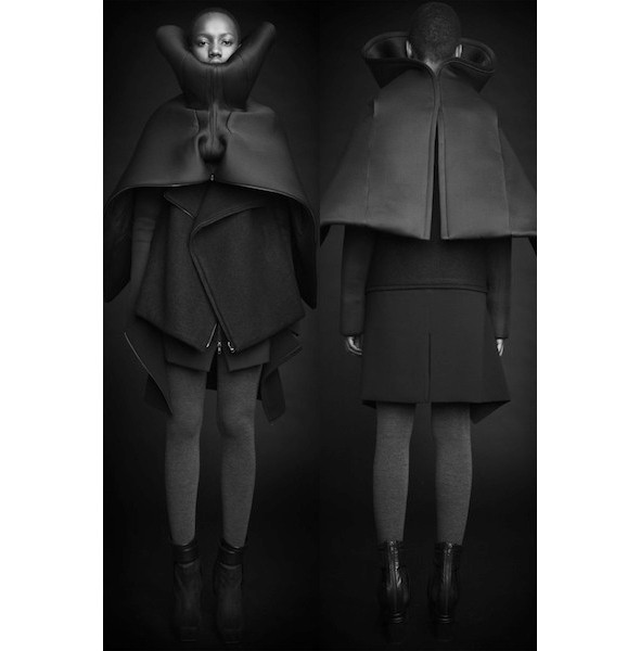 Изображение 26. Лукбуки: Bergdorf Goodman, Jaeger Black и Rad Hourani.. Изображение № 26.