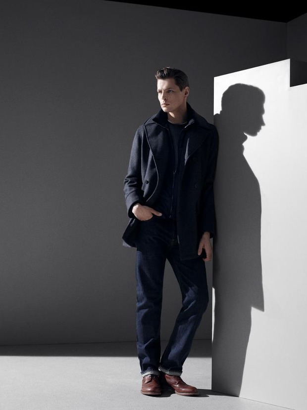 Alfred Dunhill lookbook casual wear Autumn Winter 2012. Изображение № 9.