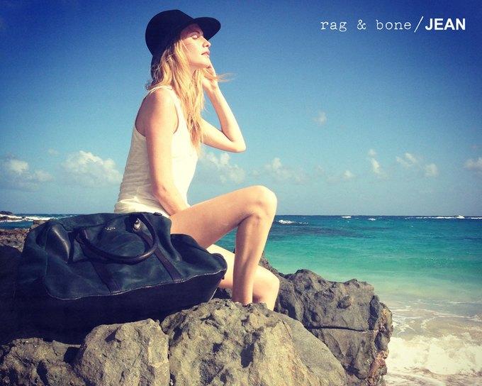 Камила Роу сняла Поппи Делевинь для Rag & Bone. Изображение № 10.