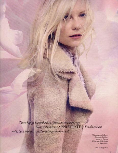 Съёмка: Кирстен Данст для Elle. Изображение № 4.