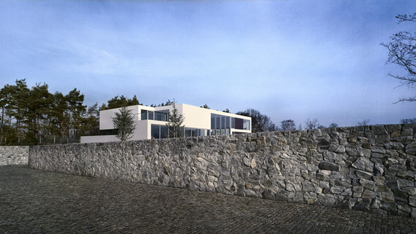 Aatrial House — дом-«вытынанка». Изображение № 1.
