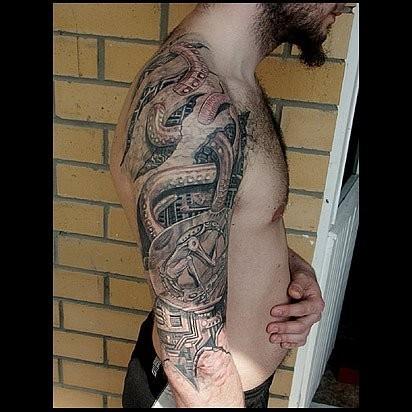 Татуировки в стиле Иннормизма. Изображение № 10.