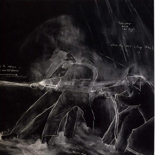 Грифельная доска какхолст: инсталляции Тациты Дин. Изображение № 5.