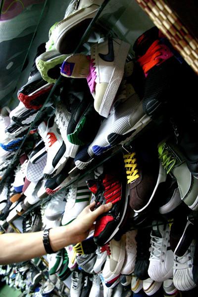 Как отличить поддельные кроссовки. Изображение № 1.