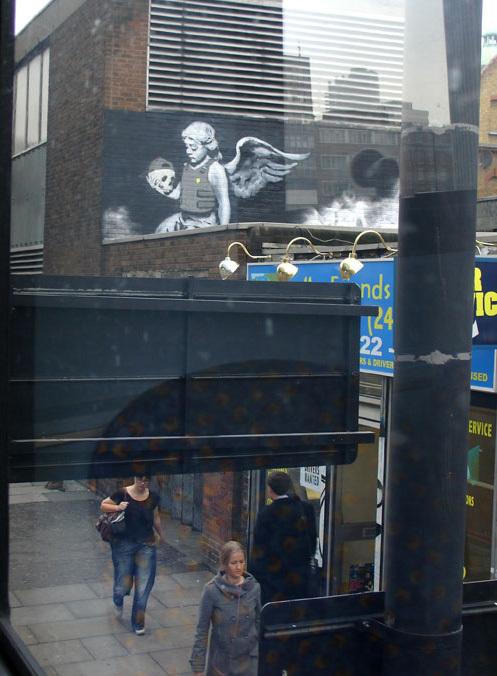 Изображение 10. Banksy (уличная мышь – герой).. Изображение № 10.