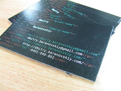 70 Нетривиальных визиток. Изображение № 61.