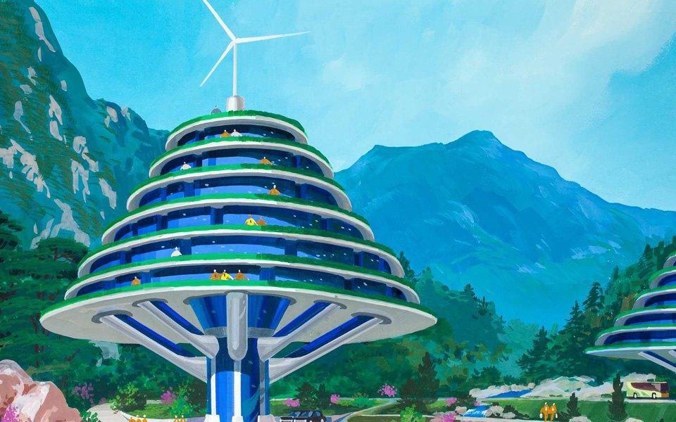 Какой видят архитектуру будущего  в Северной Корее . Изображение № 6.