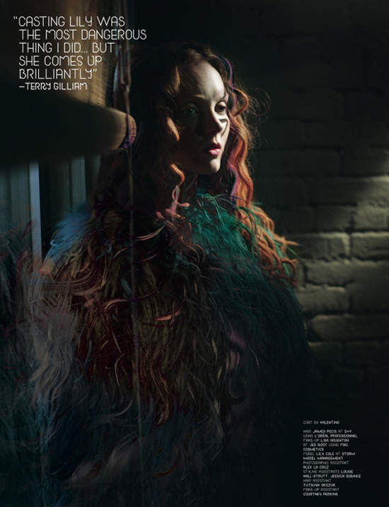 Lily Cole for Dazed&Confused (November 2009). Изображение № 4.