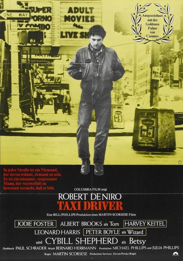 Таксист Мартина Скорсезе на фото со съемочной площадки. Изображение № 18.