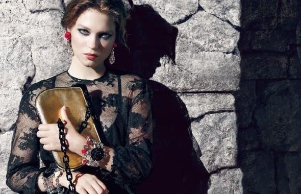 Кампания: Леа Сейду для Prada. Изображение № 1.