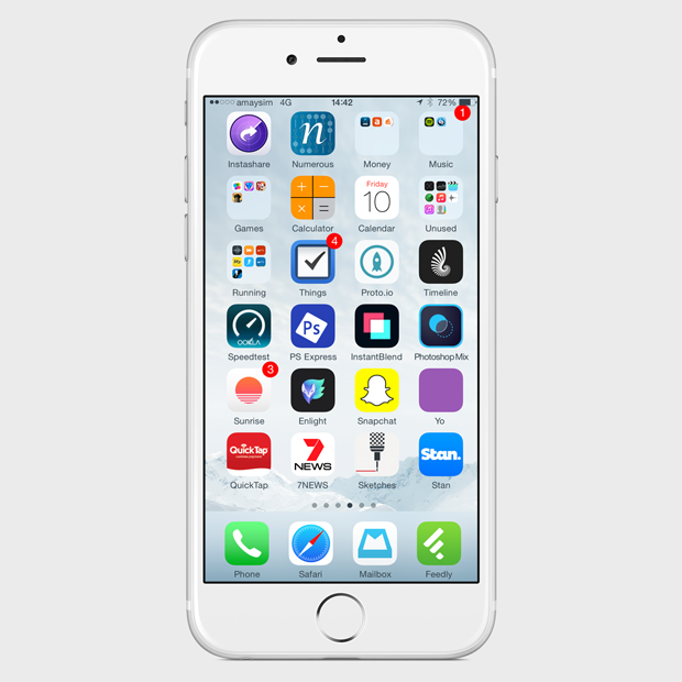 Экран моего смартфона: UX-архитектор Анна Заболотная. Изображение № 4.