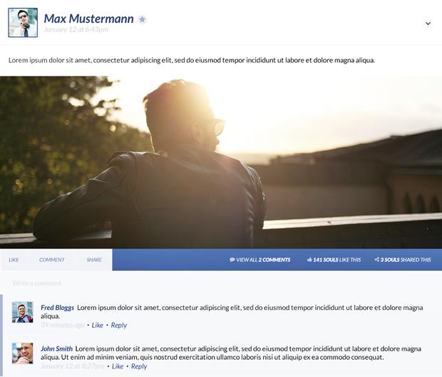 Редизайн дня: полностью новая веб-версия Facebook. Изображение № 4.