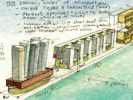 Архитектурные акварели стивена холла. Изображение № 18.