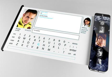 Концепт телефона отукраинского дизайнера. Изображение № 2.