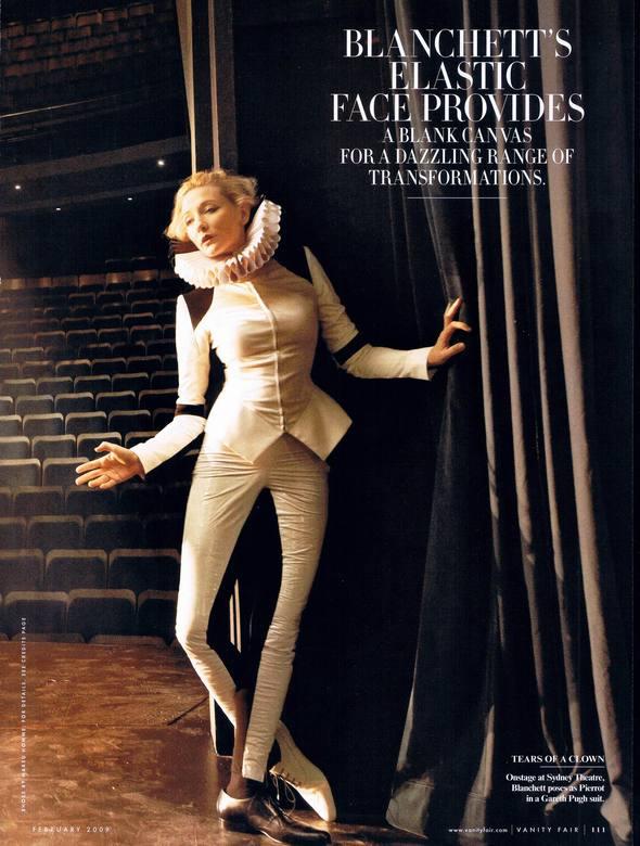 Кейт Бланшетт вжурнале Vanity Fair. Изображение № 7.