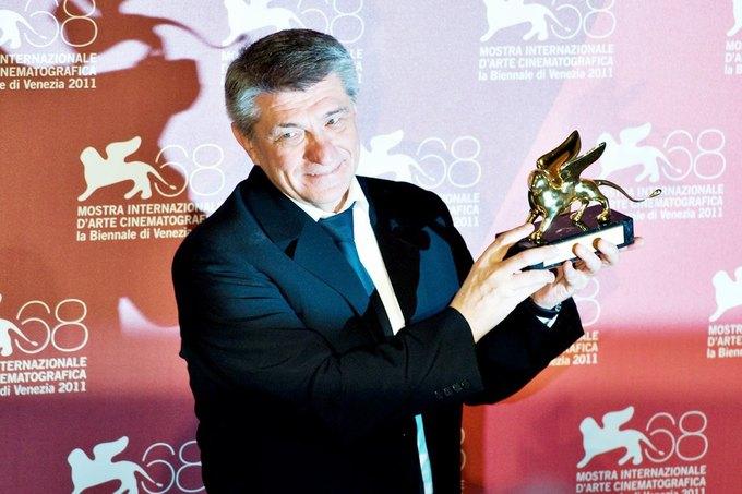 Александр Сокуров на Венецианском кинофестивале в 2011 году. Изображение № 1.