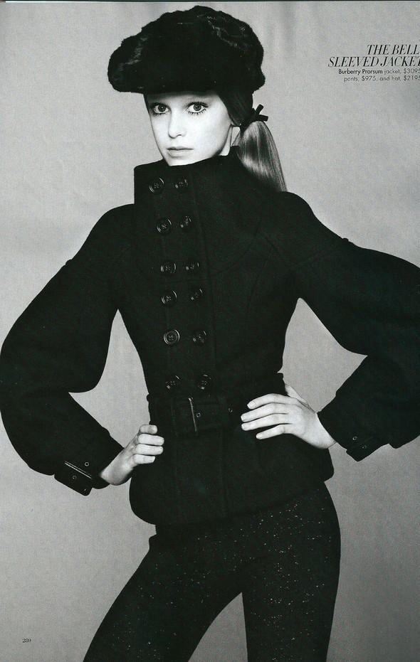 Съёмка: Джемма Бейнес для Harper's Bazaar. Изображение № 5.