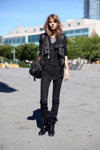 Нерабочее время: Блоги об уличном стиле моделей. Изображение № 12.