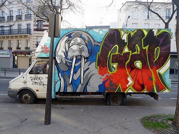 Стрит-арт в Париже. Изображение № 5.