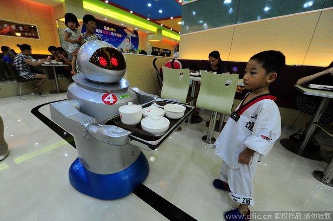 В Китае открылся роботизированный ресторан . Изображение № 1.
