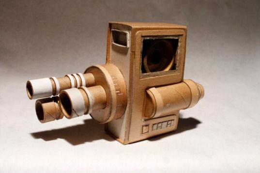 Картонные фотокамеры Киля Джонсона. Изображение № 7.