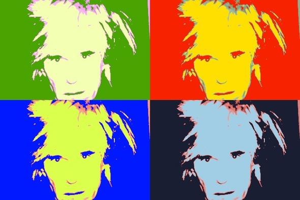 10 портретов Уорхола на веб-камеру . Изображение № 6.