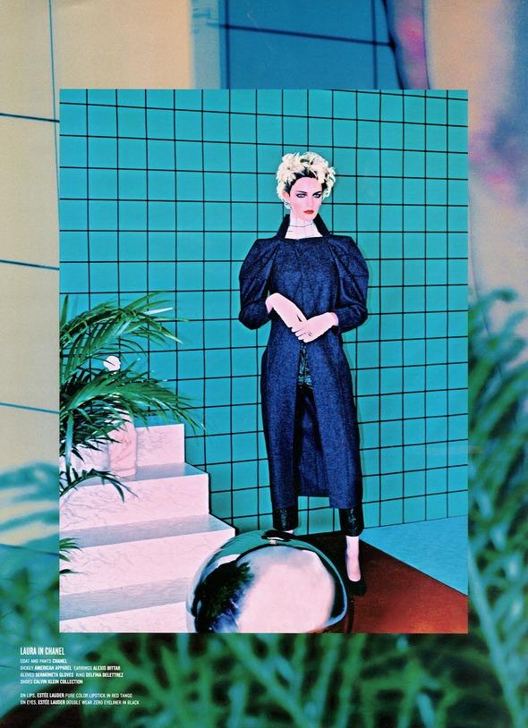 Стоп-кадр: Новые съемки Love, Russh, Vogue и V. Изображение № 86.