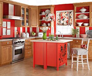 Изображение 9. Модный красный или яркое решение для кухни.. Изображение № 7.