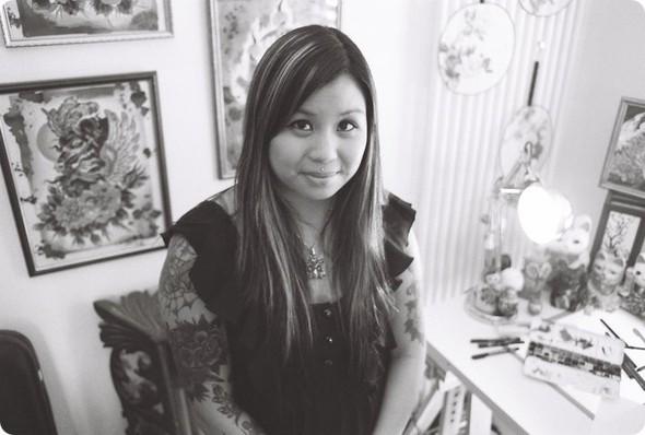 Kim-Anh Nguyen-Dinh : От рисунка к татуировке. Изображение № 17.