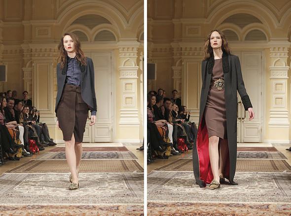 Изображение 9. A'la Russe FW 2011: пальто в пол и широкие брюки.. Изображение № 9.