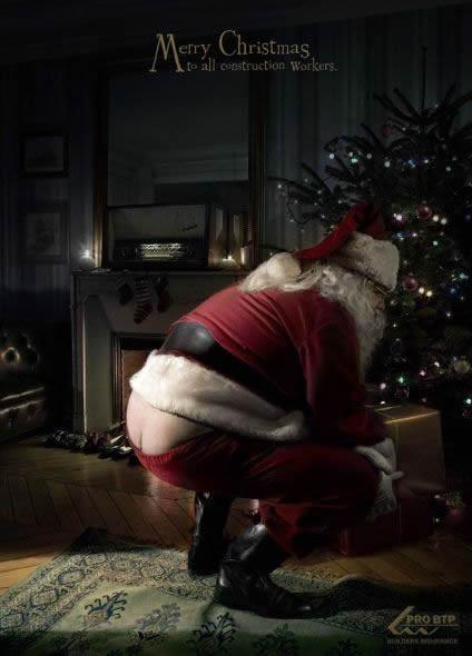 Новогоднее - Рождественский креатив в рекламе. Изображение № 52.