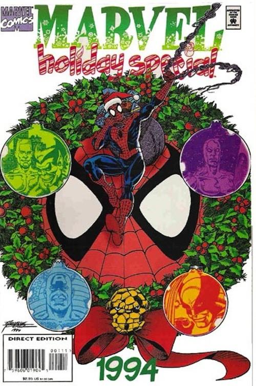 20 новогодних обложек комиксов. Изображение № 13.