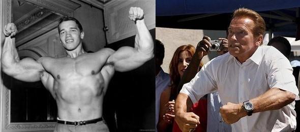 Now and Then. Знаменитости в молодости и сейчас. Изображение № 1.
