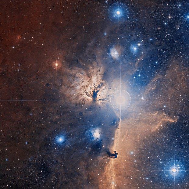 Туманность Факел (NGC 2024). Изображение № 23.