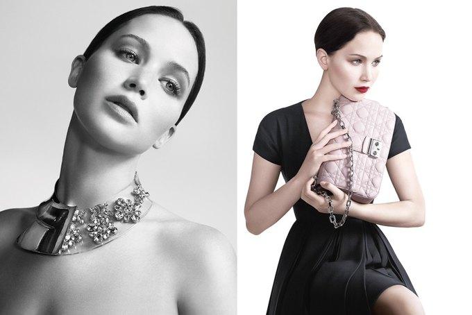 Дженнифер Лоуренс снялась в кампании Miss Dior. Изображение № 1.