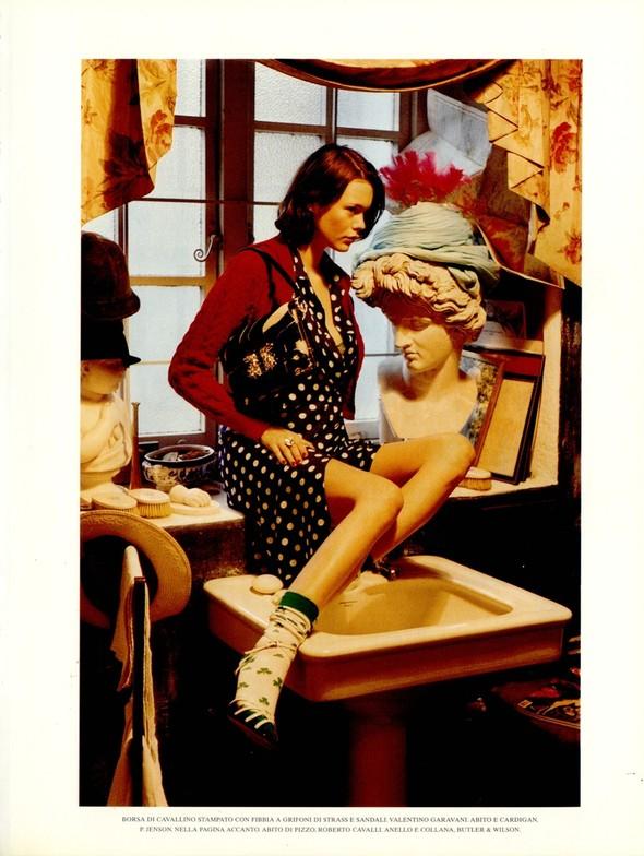 Архивная съёмка: Тим Уокер для итальянского Vogue, 2001. Изображение № 12.