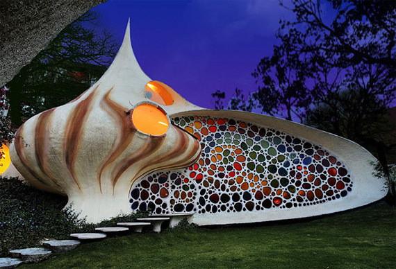 Изображение 14. Shell House: дом-моллюск в Мексике.. Изображение № 14.