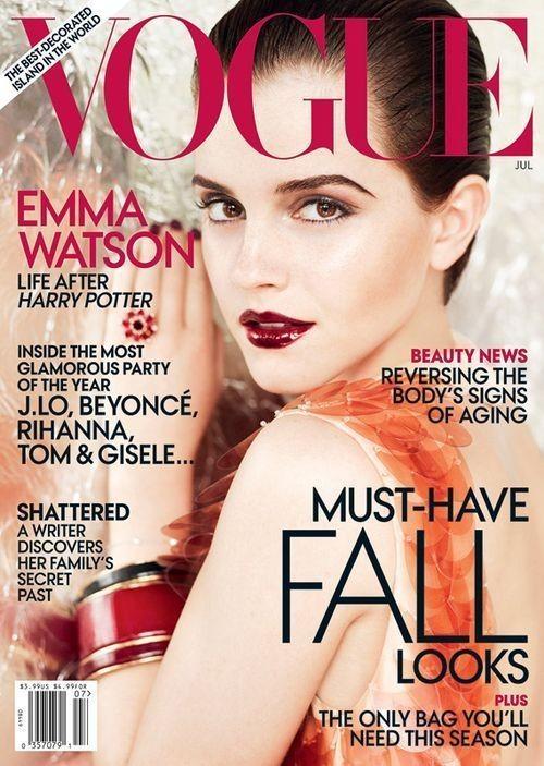 Изображение 2. Эмма Уотсон снялась для американского Vogue.. Изображение № 1.