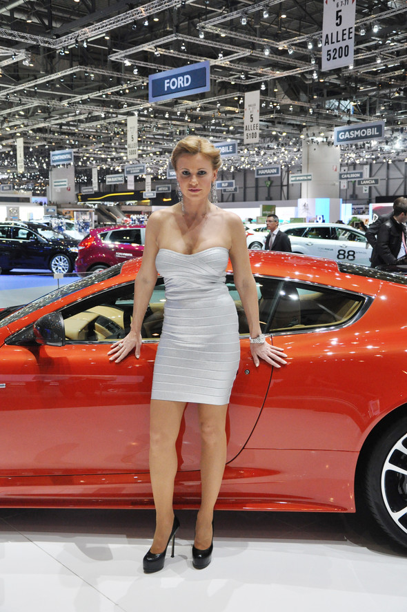 Natalia Freidina at 82nd Geneva International Motor Show. Изображение № 11.