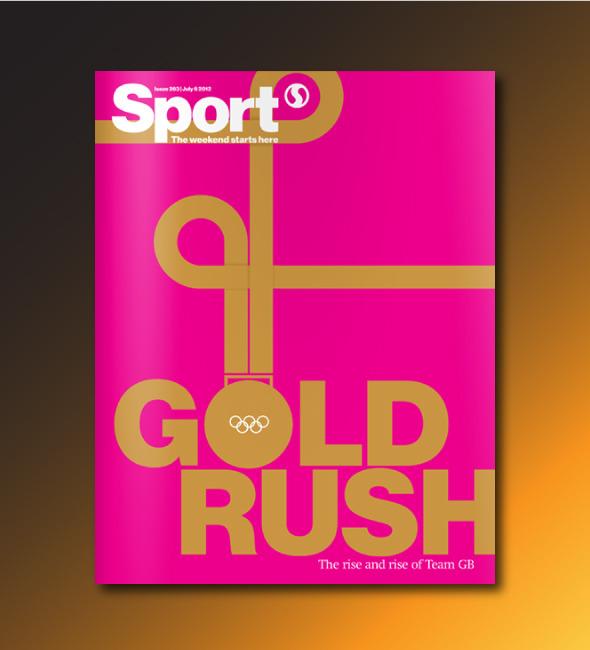 Олимпийские обложки недели: Инсталляции из красных автобусов и сотни открыток. Изображение № 1.